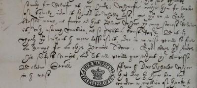 Image of Elizabeth I to Robert Devereux