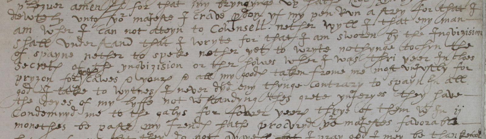 Thomas Cely to Elizabeth, 12 December 1579 (SP 94.1 f.89)