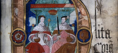 Image of Coram Rege Rolls initial details Philip & Mary