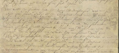 Image of Mary writes to Edward VI