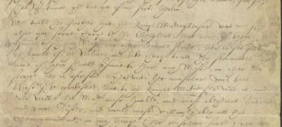 Image of Mary writes to Edward VI