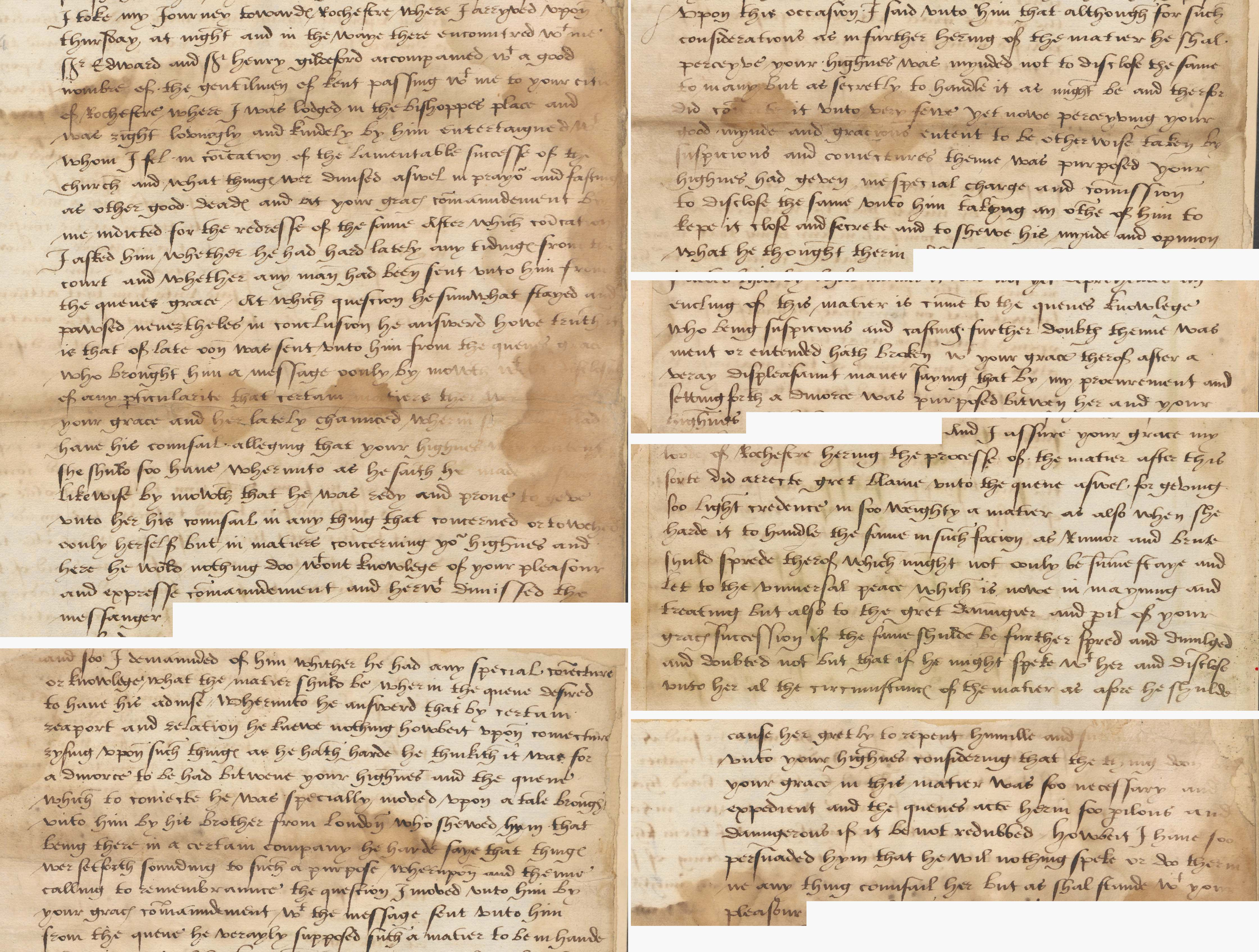 Henry VIII's divorce 1527 - The National Archives