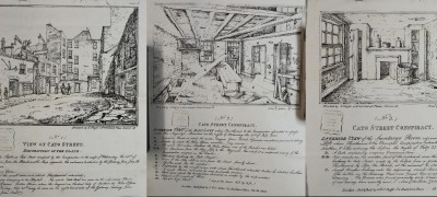 Image of Cato Street drawings