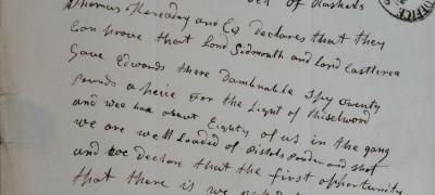 Image of Threatening letter