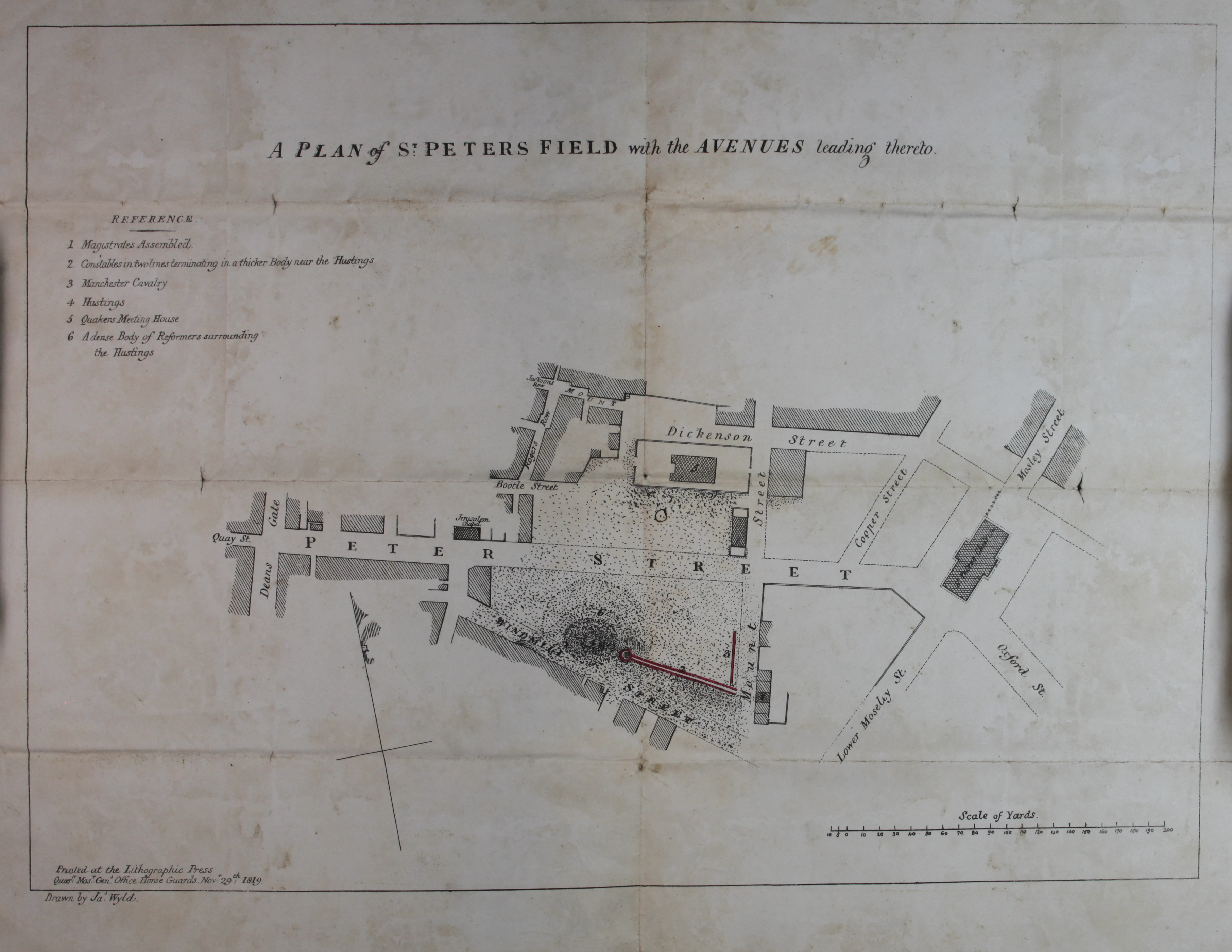 St Peters Field Map (ts-11-1056)