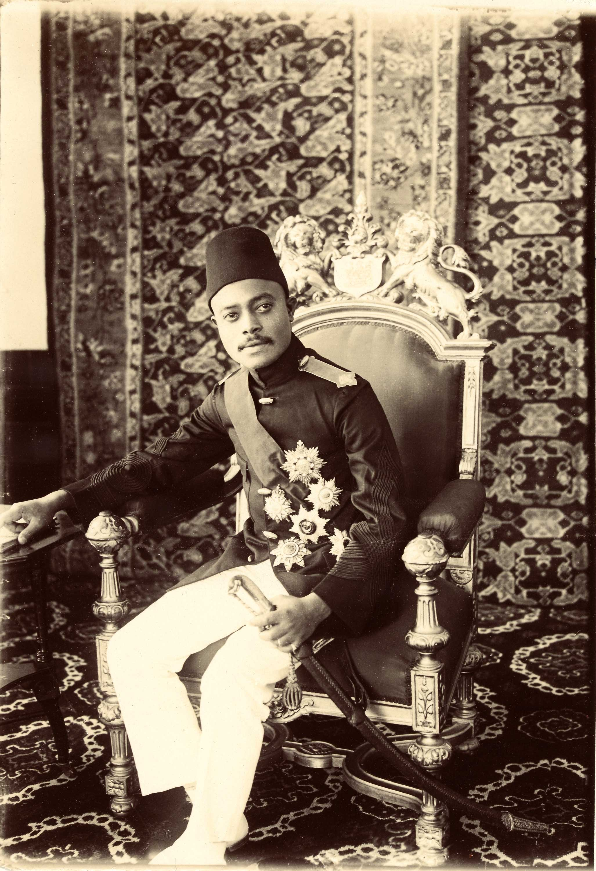 COPY1/522 (274) Ali Bin Hamoud, Sultan of Zanzibar 1908