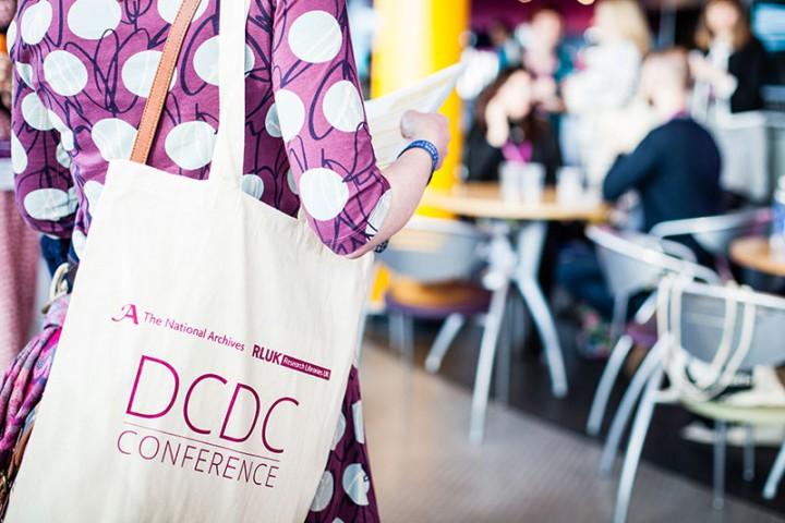 A delegate at DCDC17