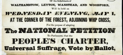 Image of Chartists demand suffrage