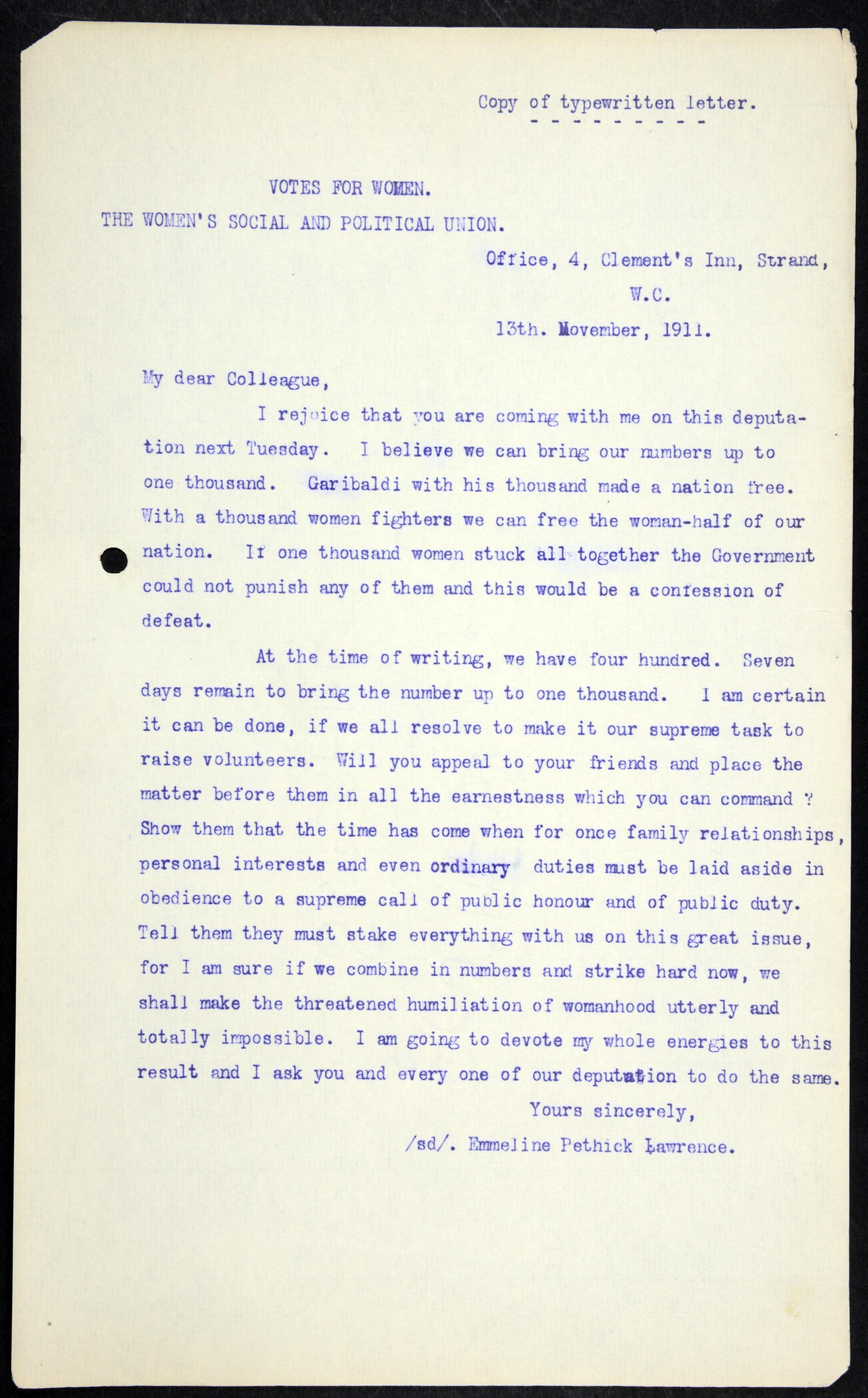 Suffragist disturbances 1911-1913. (HO144/1119/203651)