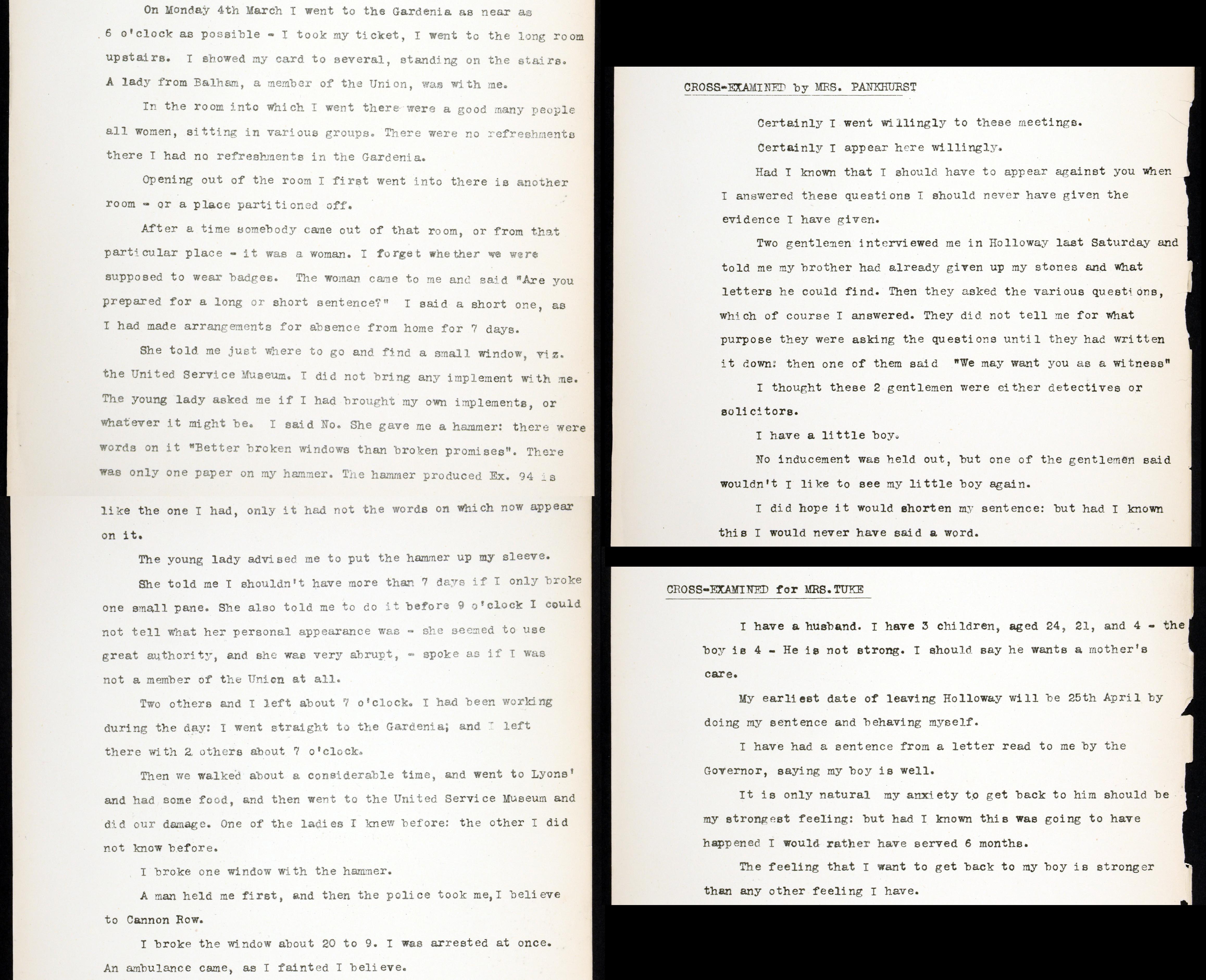 HO144/1119/203651 Letter from Lillian Ball