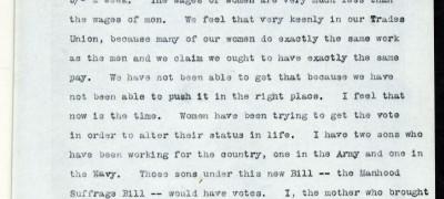 Image of Deputation to Lloyd George