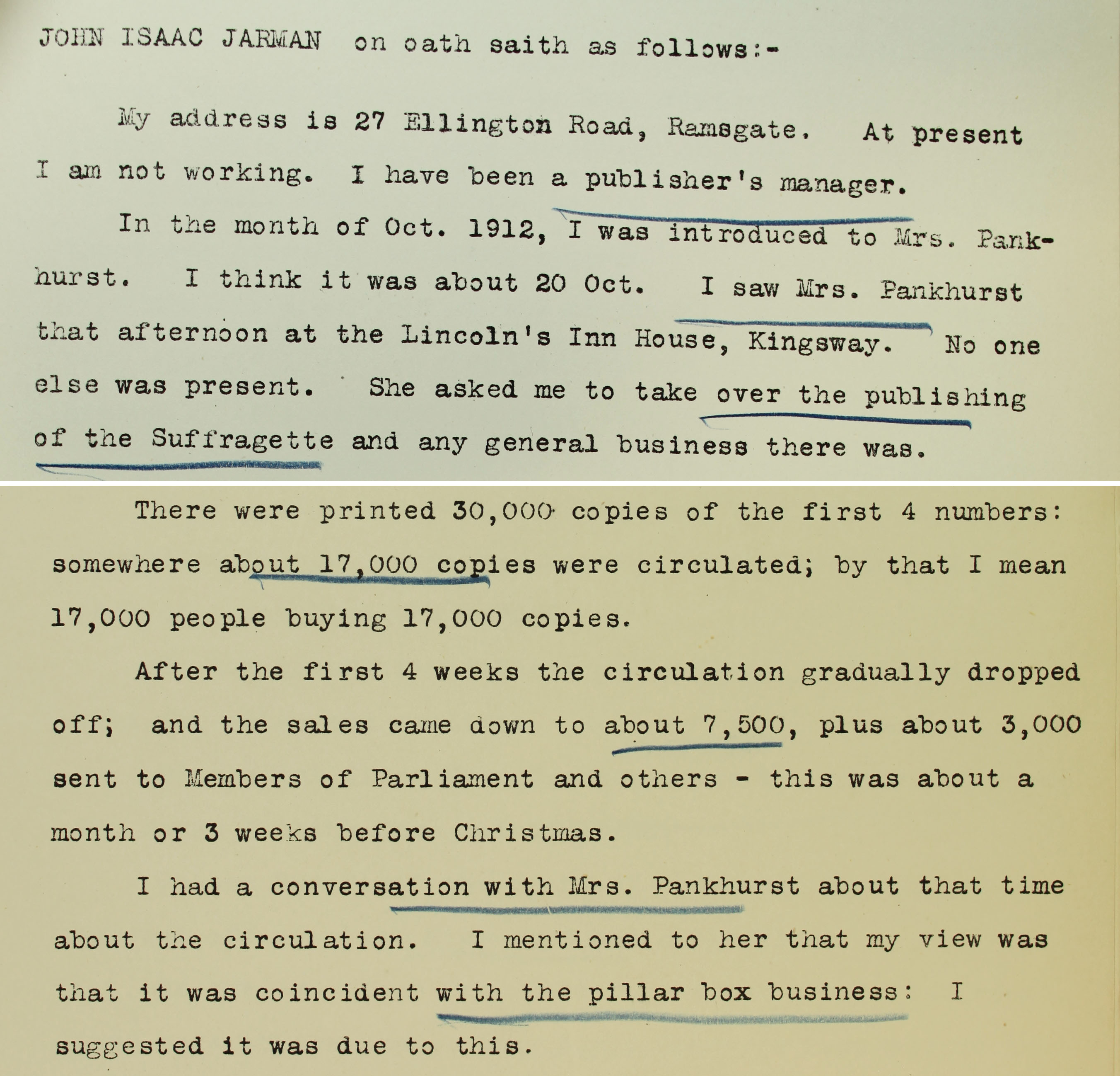 Circulation: the Suffragette - The National Archives