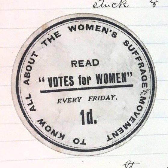 Work11/117 Votes for Women sticker