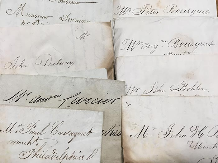 A selection of letters