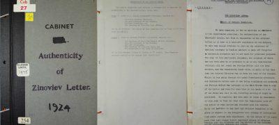 Image of Zinoviev letter