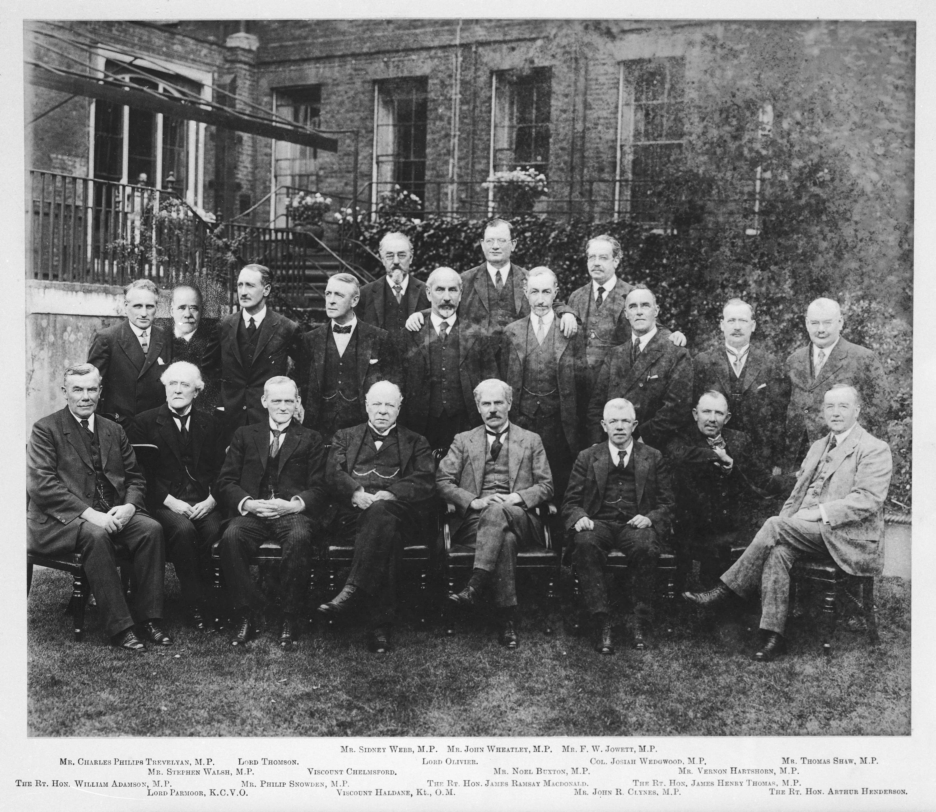 PRO30/69/1668 (Pt.4 no.318) The First Labour Cabinet, 1924