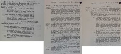 Image of Education Act 1921