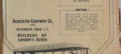 Image of London bus advertisement