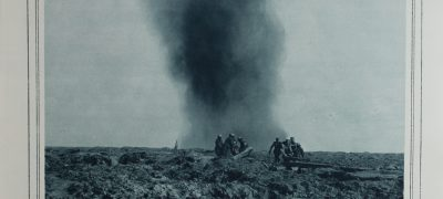 Image of Stretcher bearers under fire