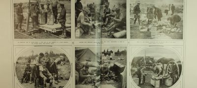 Image of Photos of daily life at the front