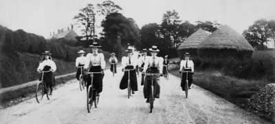 Image of Cyclists in Sittingbourne