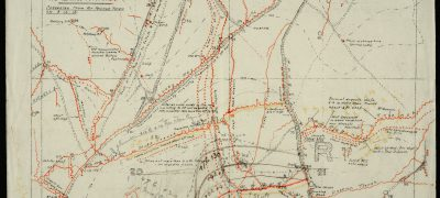 Image of Battle of the Somme trench map
