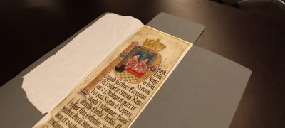 Documents on show at Tudor Study Day 2018