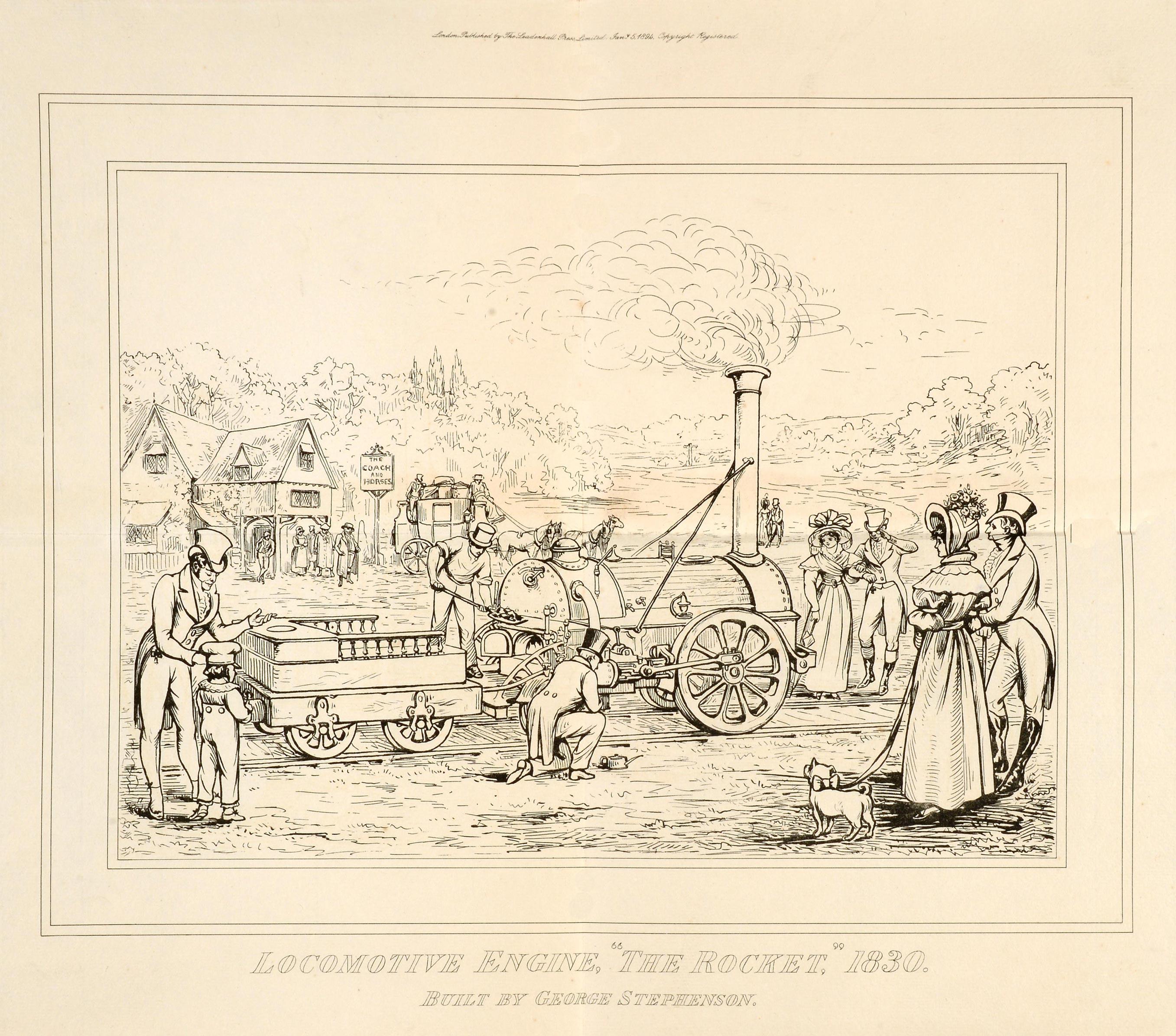 COPY1/111/515 1894 Stephenson's Rocket