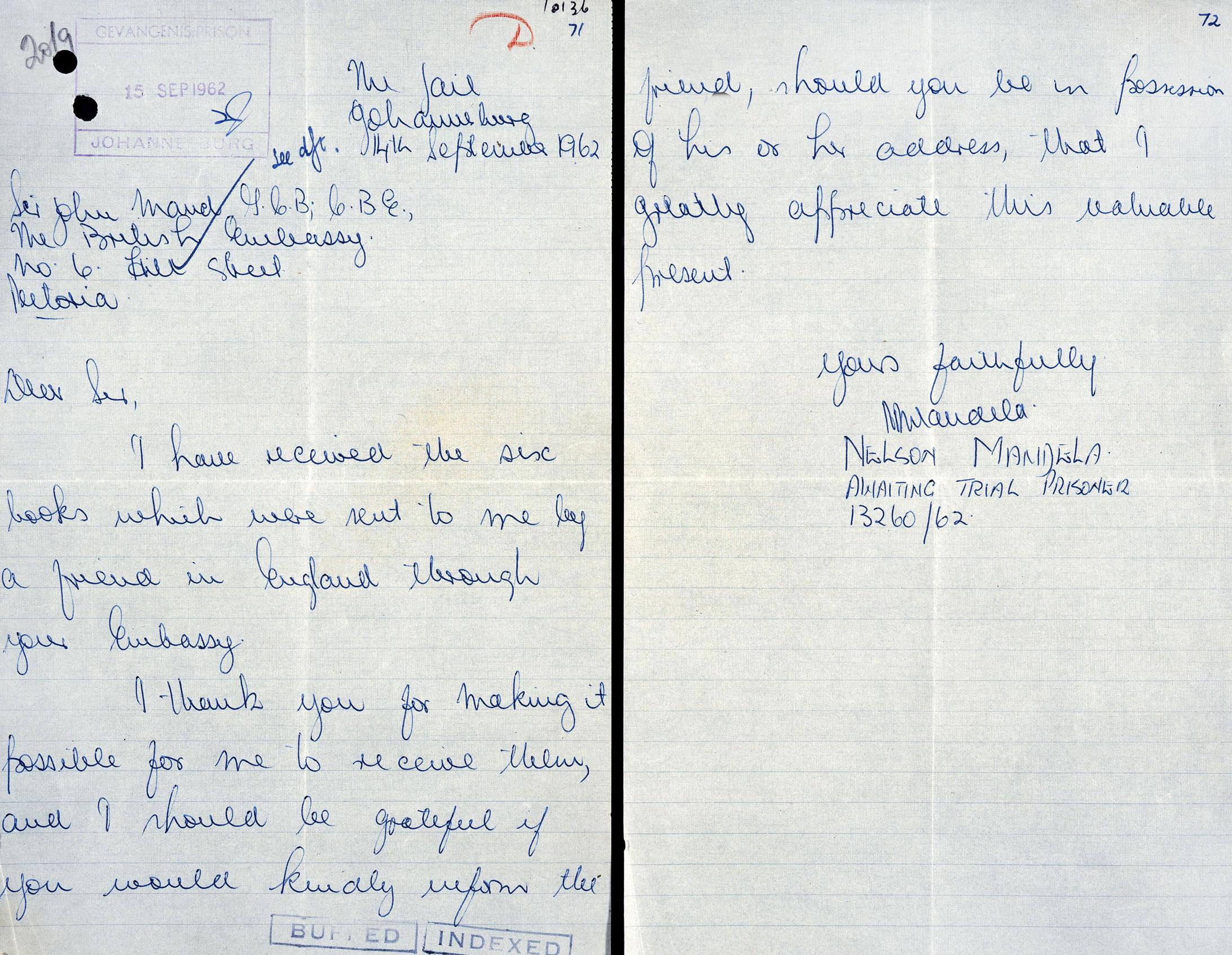 DO119/1478 Nelson Mandela
