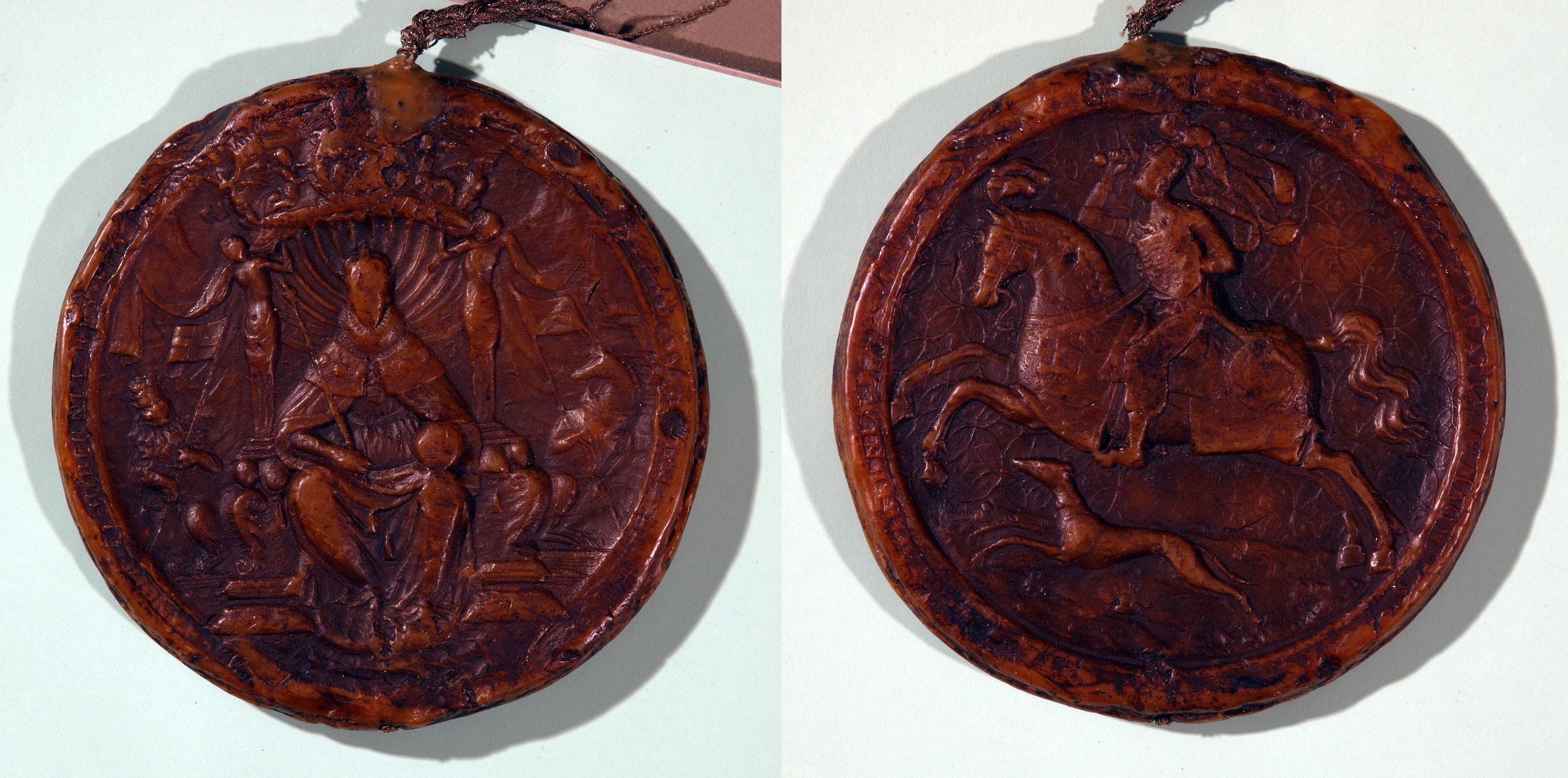 E156/6/27/3 Royal Seal of Charles I
