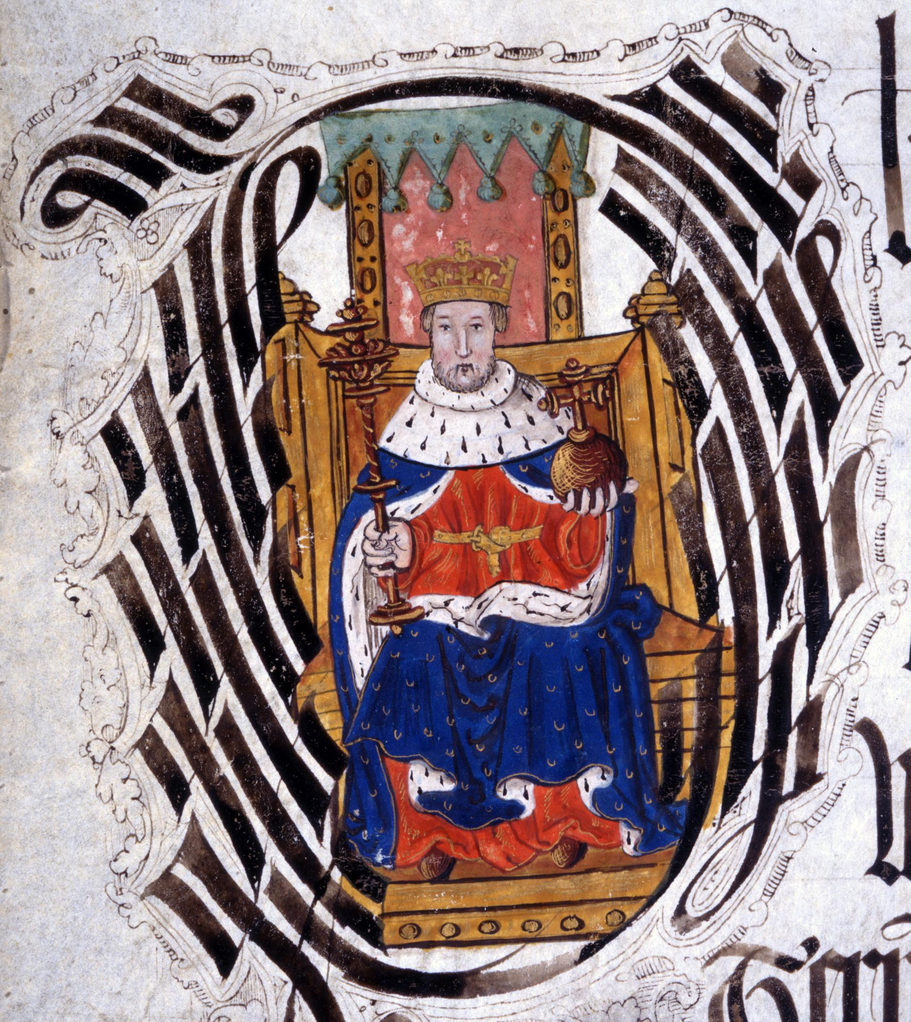 KB 27/1119/2 Henry VIII Initial Detail