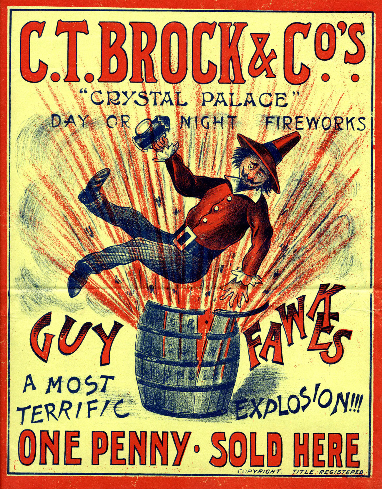 COPY1/272/1/32 1908 Guy Fawkes poster