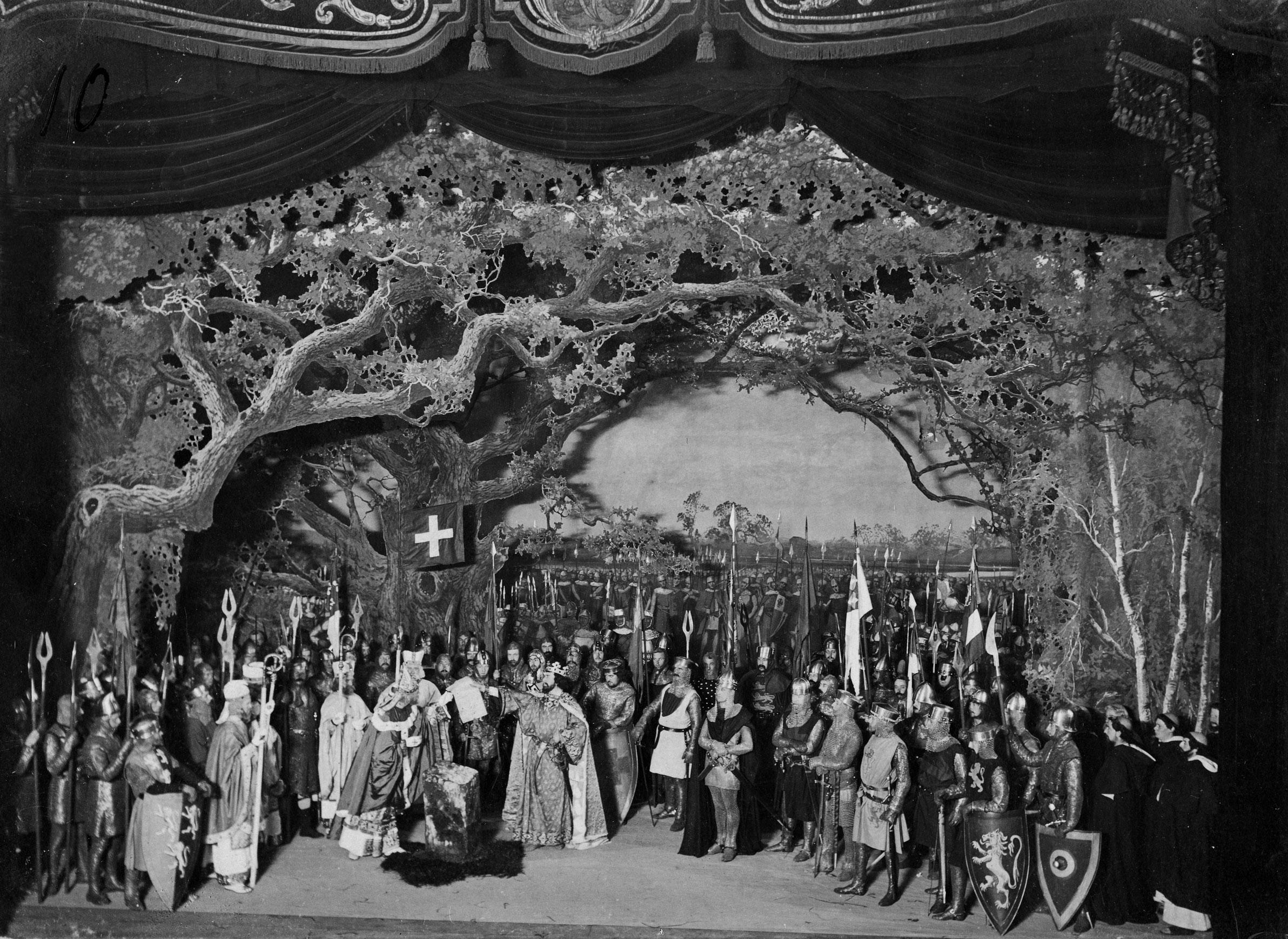 COPY1/442/651 1899 Magna Carta drama