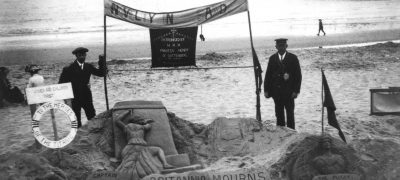 Image of Memorial to the sinking of RMS Titanic 1912