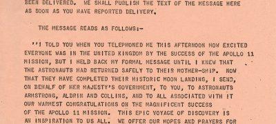 Image of Moon landing 1969