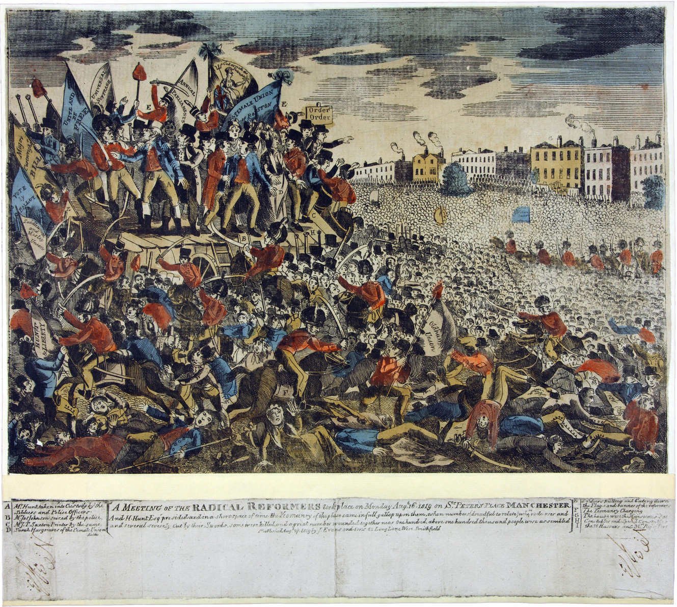 MPI1/134/16 Peterloo 1819