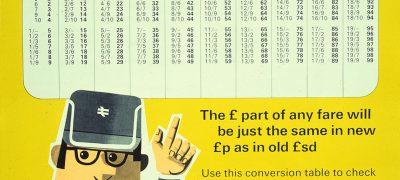 Image of British Rail goes decimal 1971