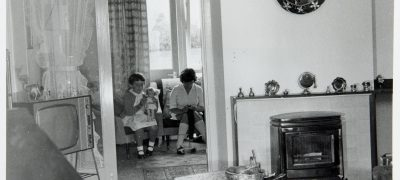Image of Housing interior Warwickshire 1965