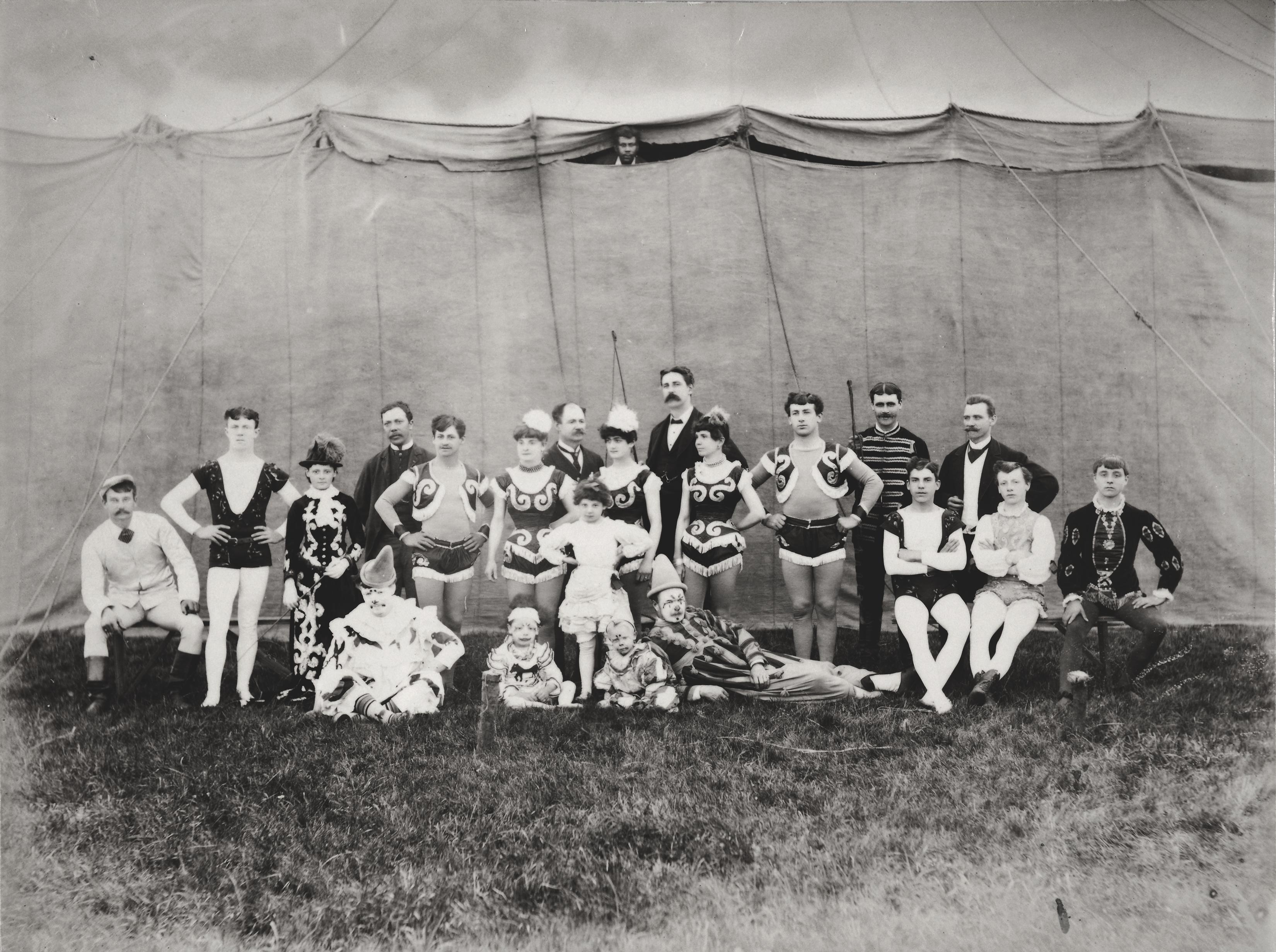 COPY 1/377 f204 1886 Bognor Regis circus
