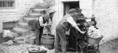 Image of Yorkshire wash day 1904