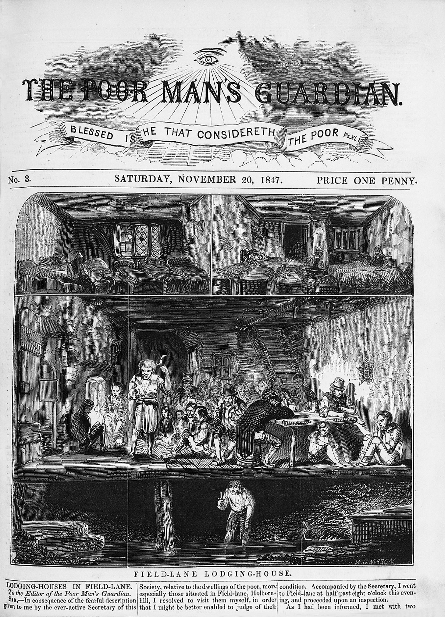 MH12/7489 Poverty London 1847