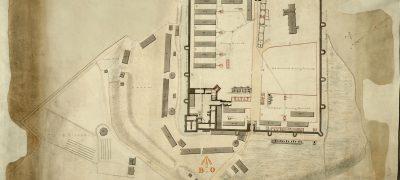 Image of Porchester Castle Hampshire 1800