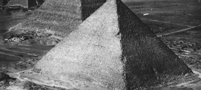 Image of The Pyramids Giza Egypt, 1928