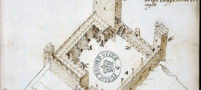 Image of Portchester Castle 1609