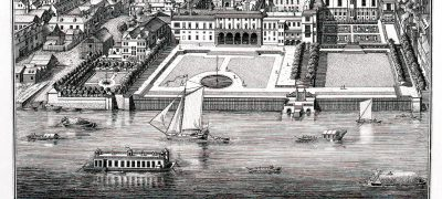 Image of Somerset House circa 1720