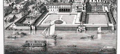 Image of Somerset House circa 1720