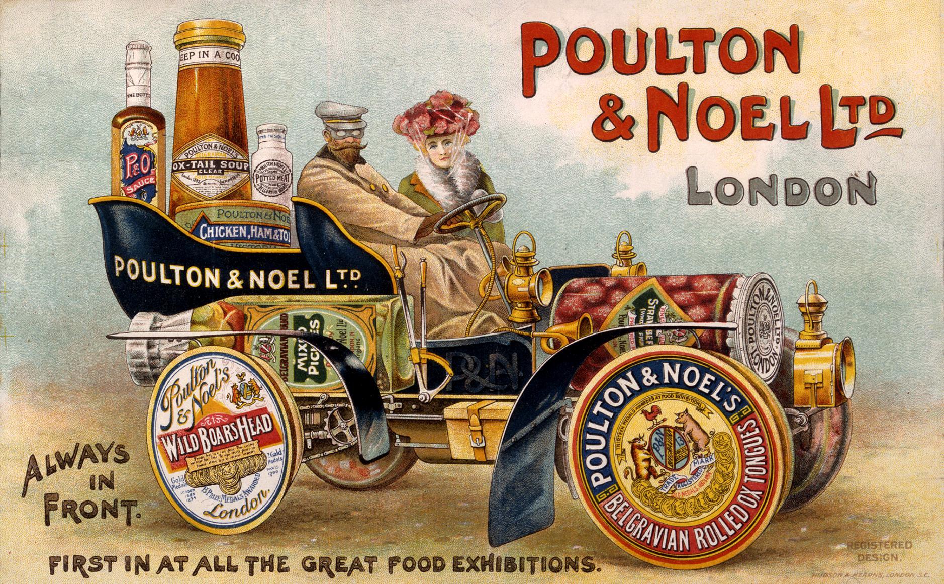 COPY 1/223 f295 1904 Poulton & Noel Foods