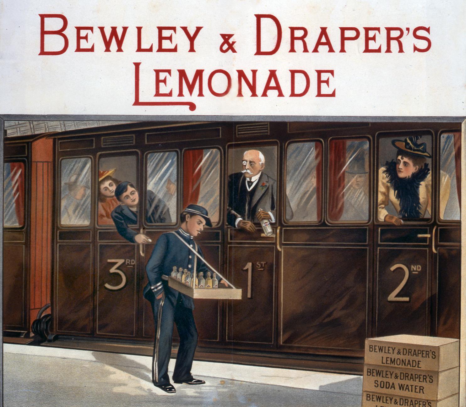 COPY 1/113 f260 1894 Bewley & Draper's Lemonade
