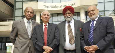 Panjab Project participants outside The National Archives