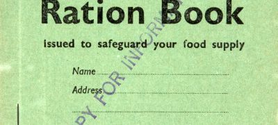 BT131/40 Child's ration book